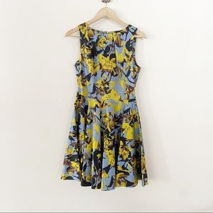 Modcloth Closet London Lilly Floral Fit & Flare